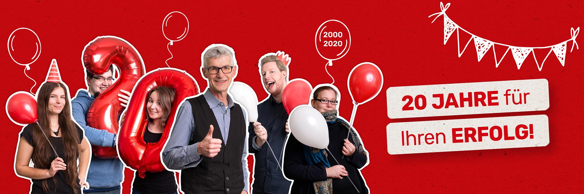 Seit 20 Jahren ist FRIEDSAM die kreative Werbeagentur für Ihren Erfolg. Kreativität und Know-How für Ihren nachhaltigen Erfolg.