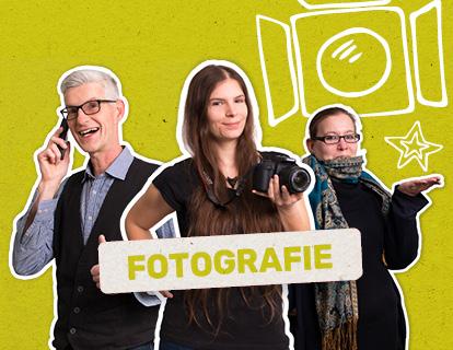 Produktfotografie sowie Portraitfotos in der FRIEDSAM Werbeagentur