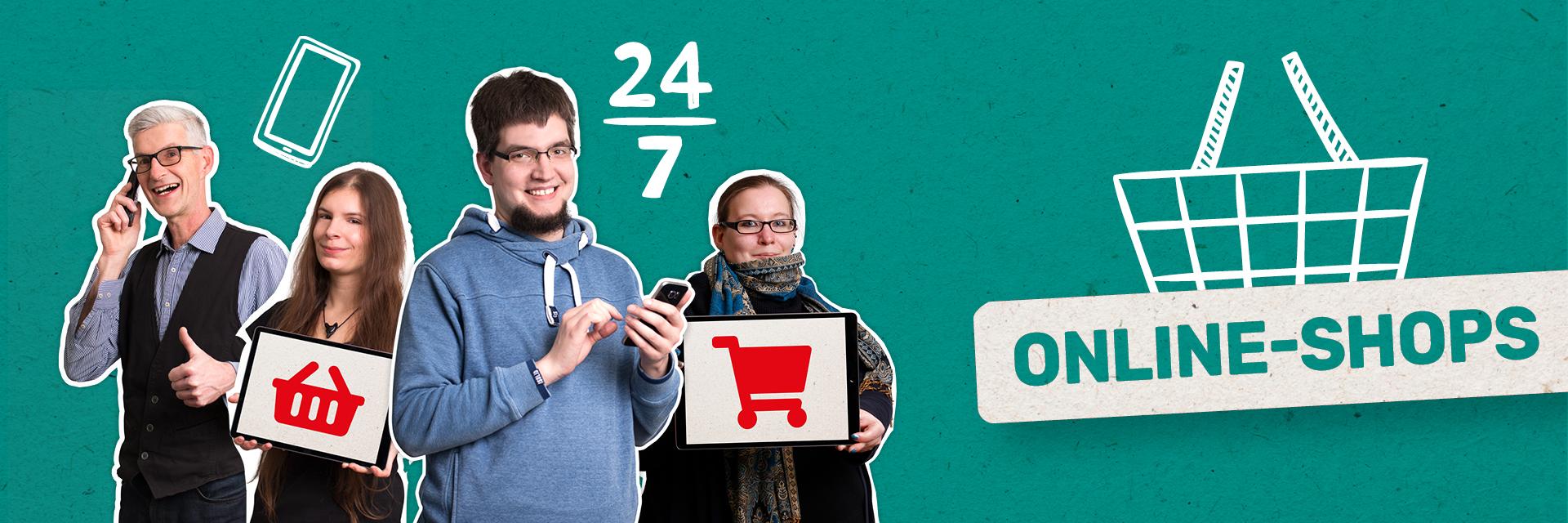 Konzeption, Design & Umsetzung Online Shops von der FRIEDSAM Werbeagentur