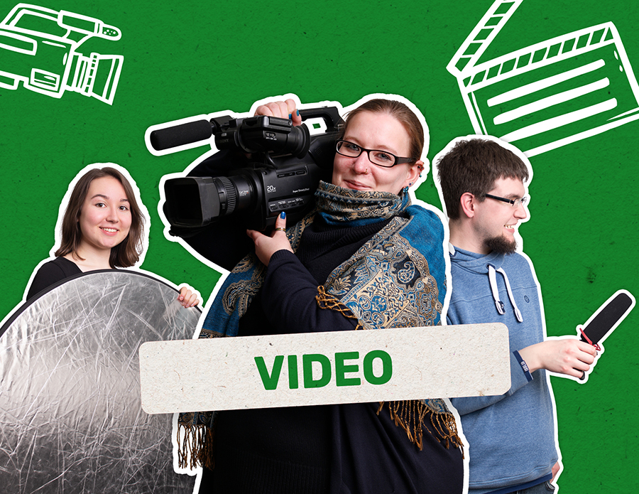 Videodesign in der FRIEDSAM Werbeagentur