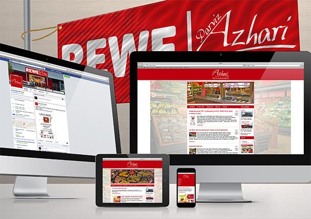 FRIEDSAM Werbeagentur realisiert Projekt für REWE Azhari Sinzig und Mülheim-Kärlich