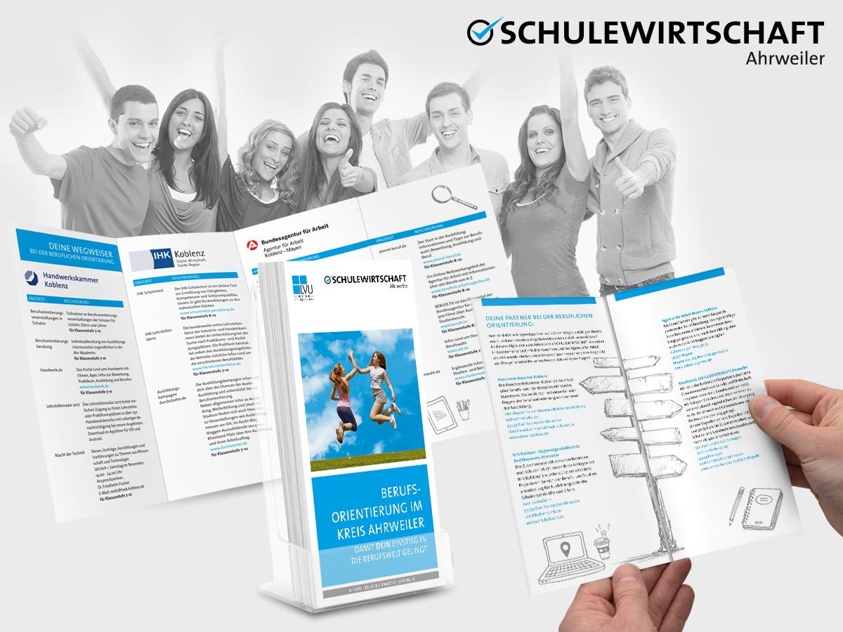 FRIEDSAM Werbeagentur realisiert Projekt für SCHULEWIRTSCHAFT