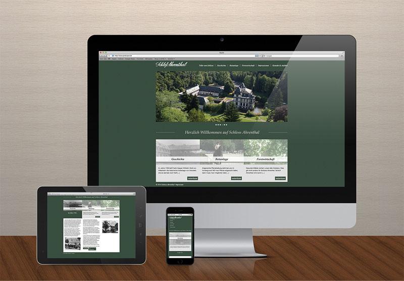 FRIEDSAM Werbeagentur realisiert Projekt für Schloss Ahrenthal