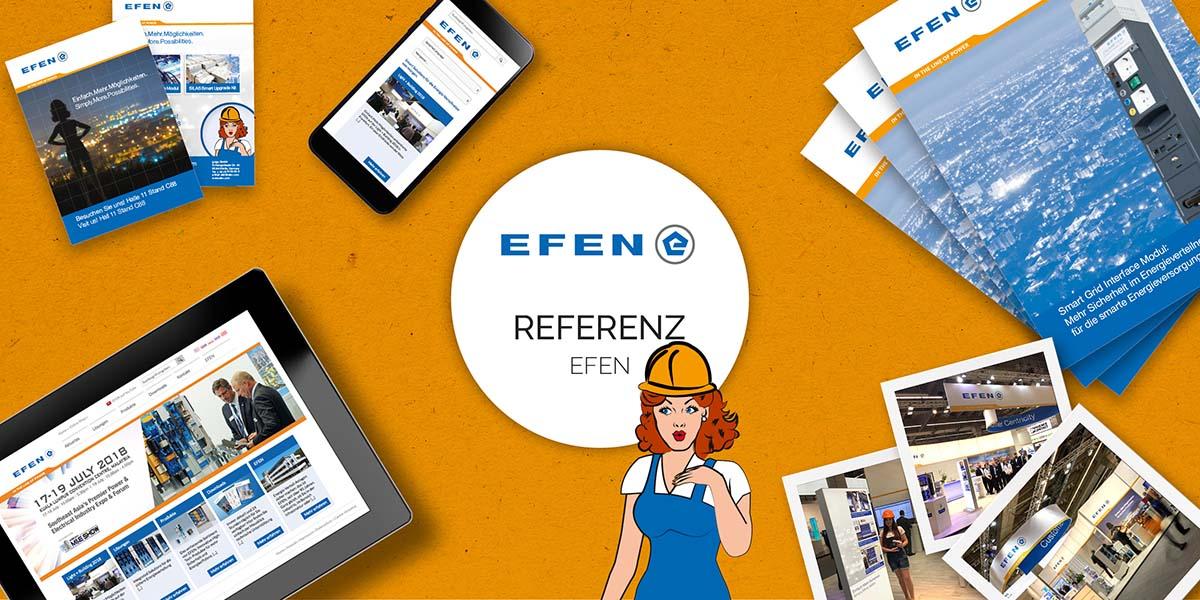 FRIEDSAM Werbeagentur realisiert Projekt für EFEN
