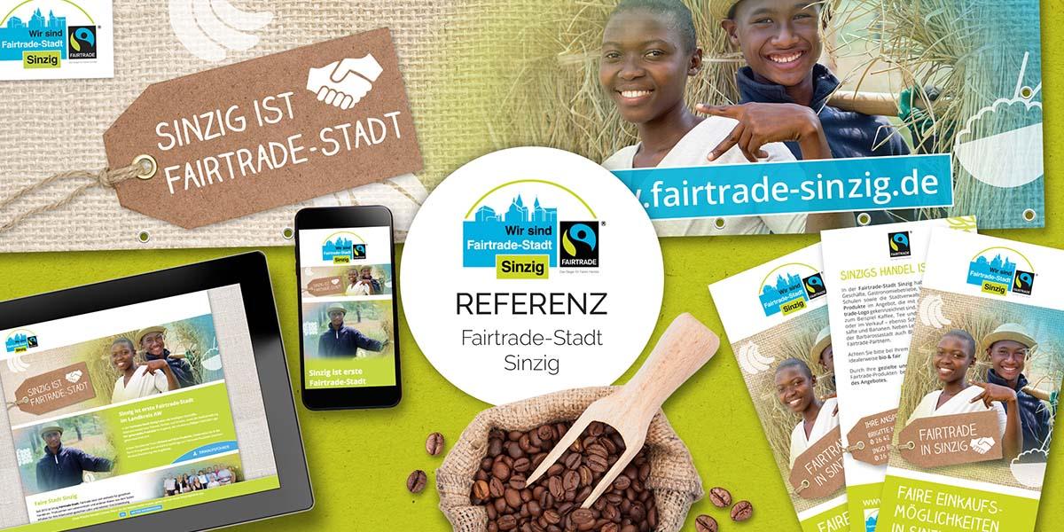 FRIEDSAM Werbeagentur realisiert Projekt für Fairtrade-Stadt Sinzig