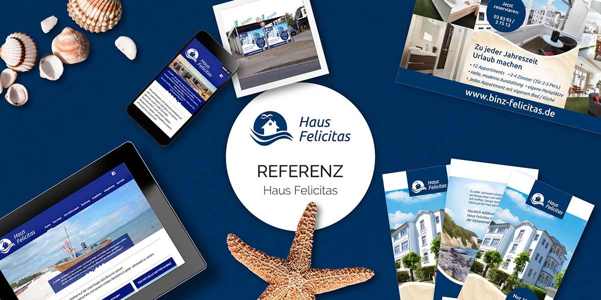 FRIEDSAM Werbeagentur realisiert Projekt für Haus Felicitas