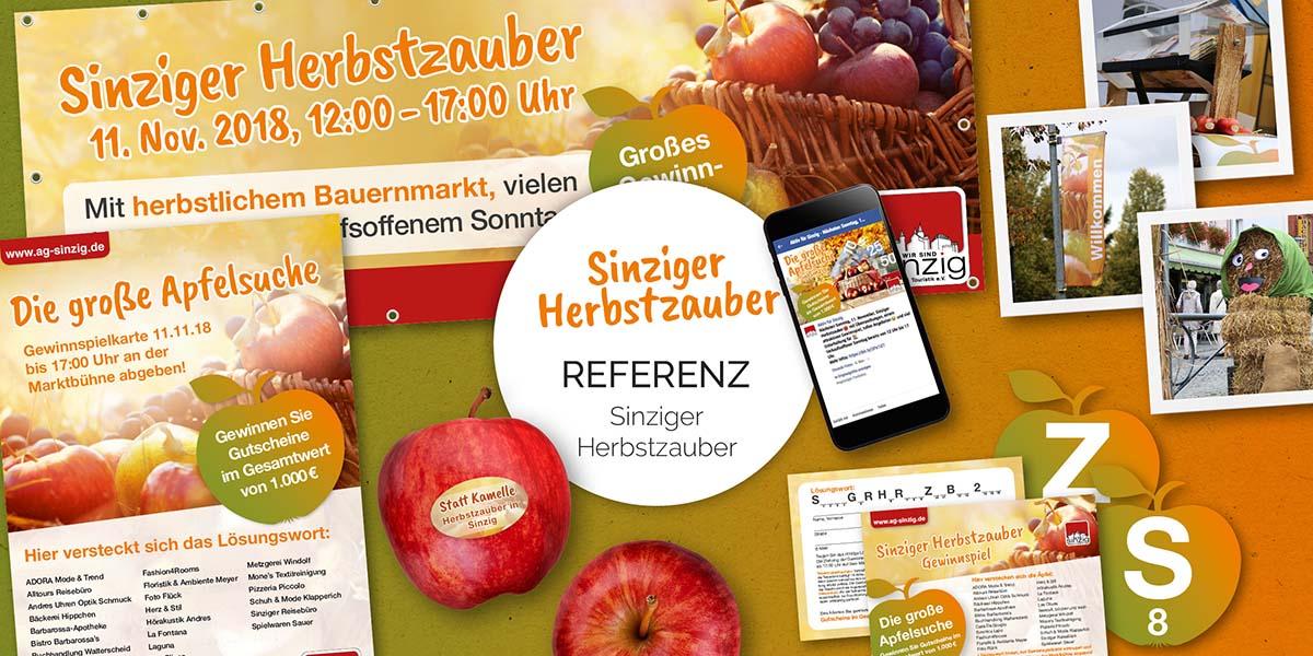 FRIEDSAM Werbeagentur realisiert Projekt für Sinziger Herbstzauber