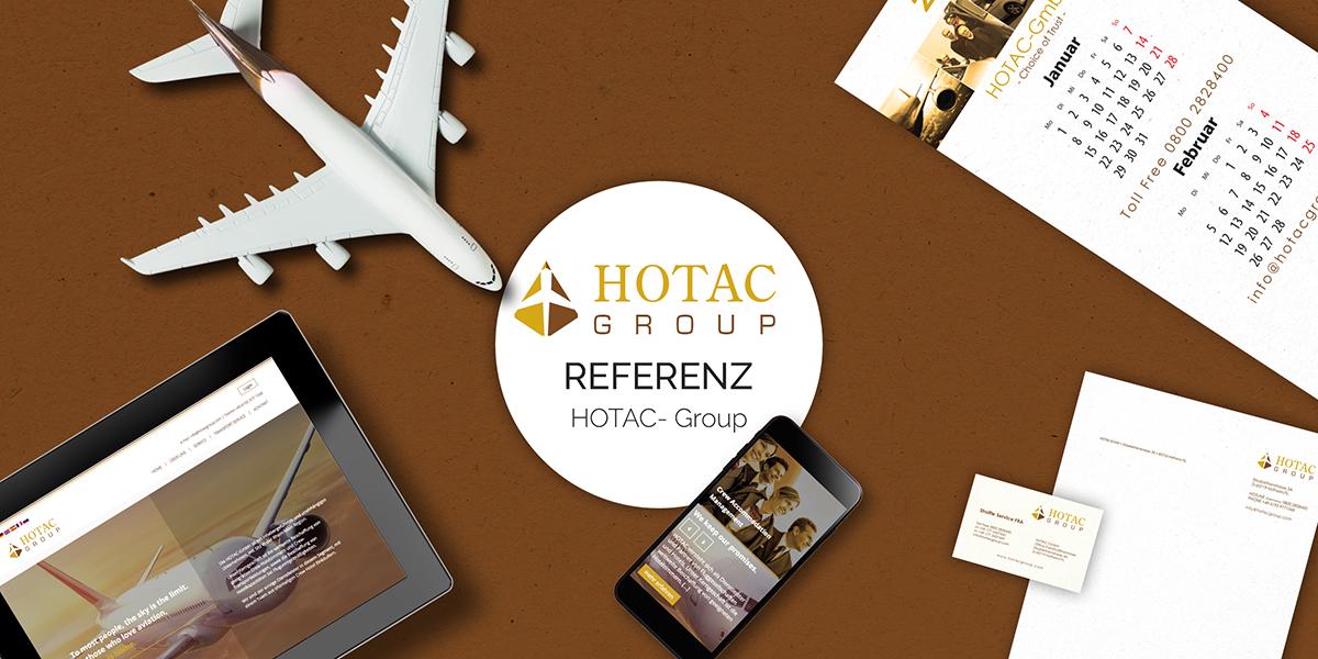 FRIEDSAM Werbeagentur realisiert Projekt für HOTAC Group