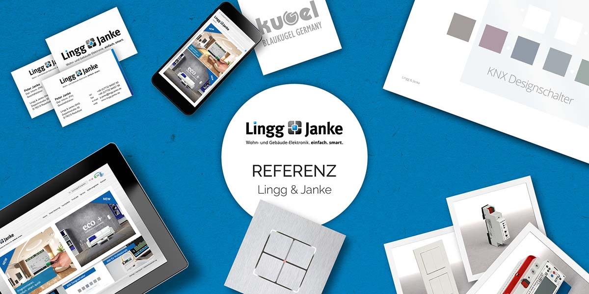 FRIEDSAM Werbeagentur realisiert Projekt für Lingg & Janke
