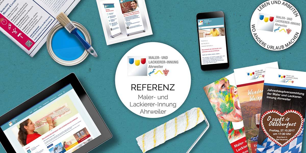 FRIEDSAM Werbeagentur realisiert Projekt für Maler- und Lackierer-Innung Ahrweiler