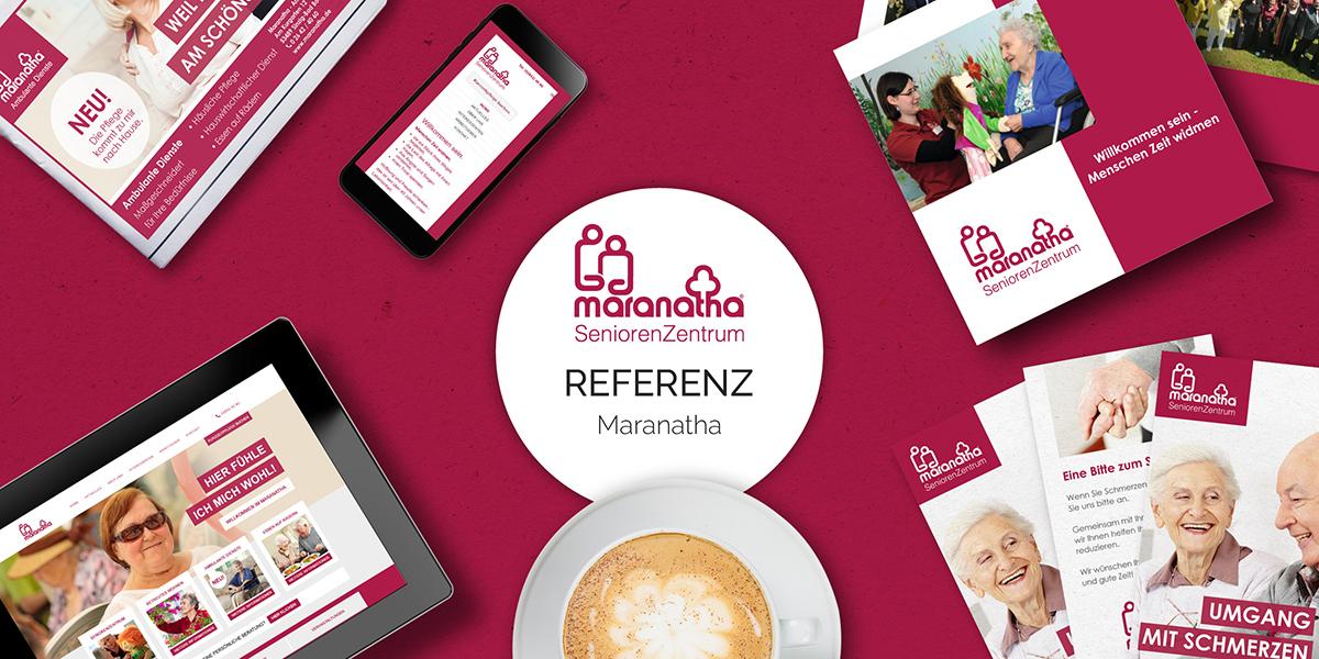 FRIEDSAM Werbeagentur realisiert Projekt für Maranatha