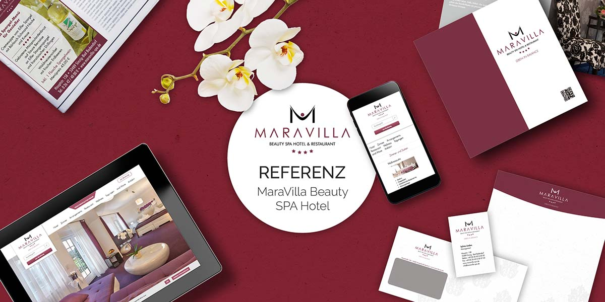 FRIEDSAM Werbeagentur realisiert Projekt für Maravilla Beauty Spa Hotel & Restaurant