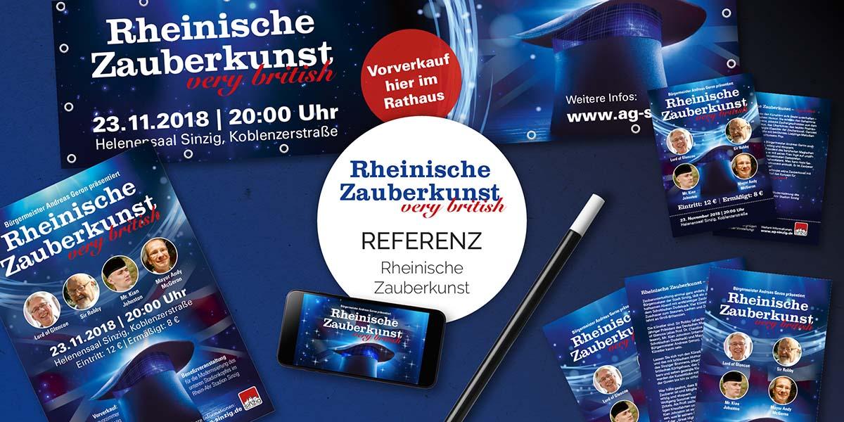 FRIEDSAM Werbeagentur realisiert Projekt für Rheinische Zauberkunst