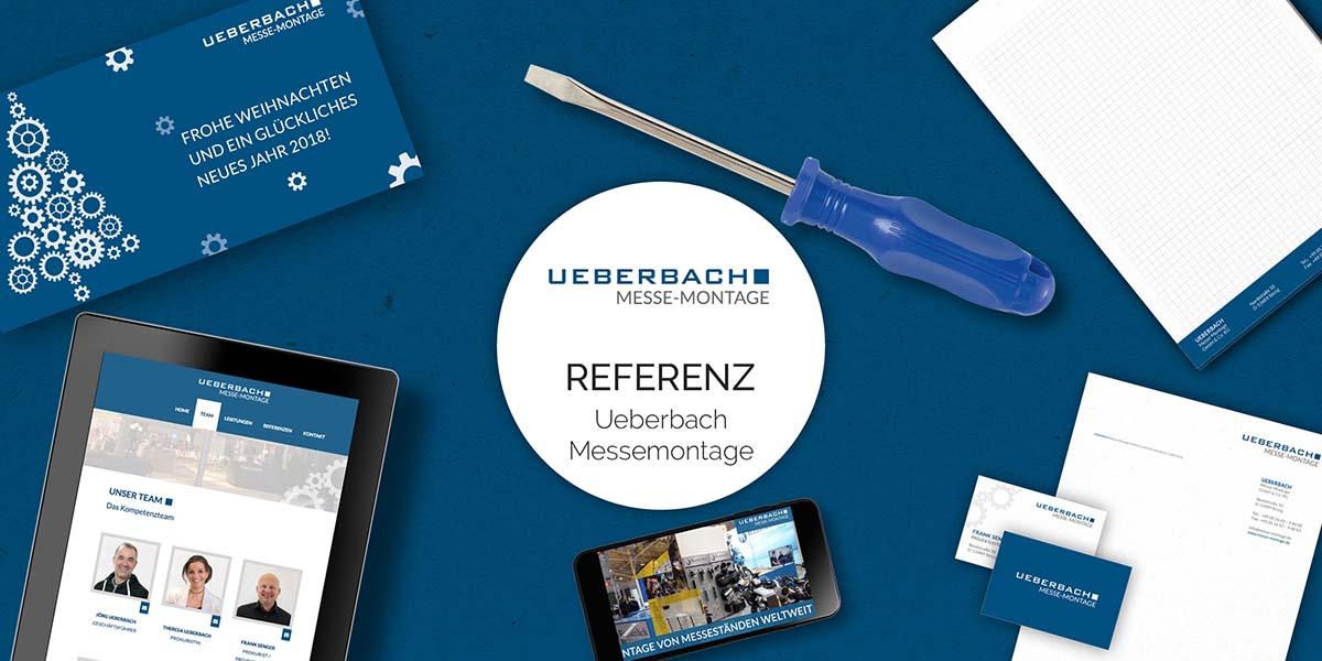 FRIEDSAM Werbeagentur realisiert Projekt für Ueberbach Messe-Montage GmbH & Co. KG