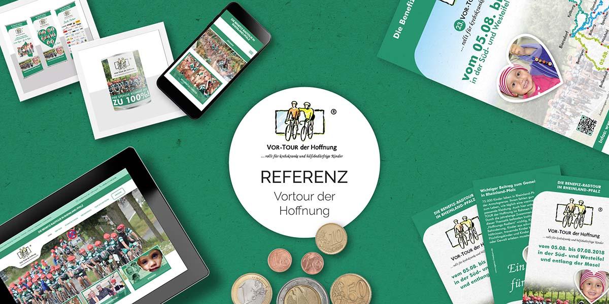 FRIEDSAM Werbeagentur realisiert Projekt für VOR-TOUR der Hoffnung