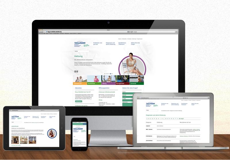 FRIEDSAM Werbeagentur realisiert Projekt für Sanitätshaus Thillmann