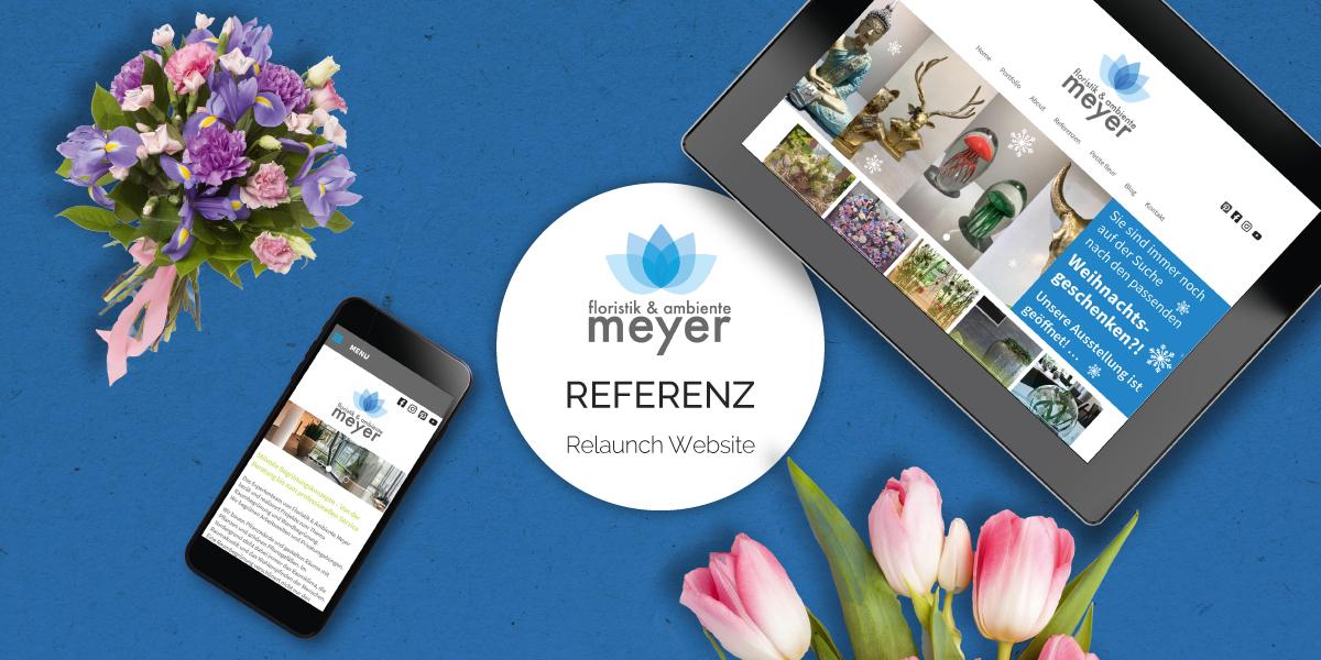 FRIEDSAM Werbeagentur realisiert Projekt für Floristik und Ambiente Meyer