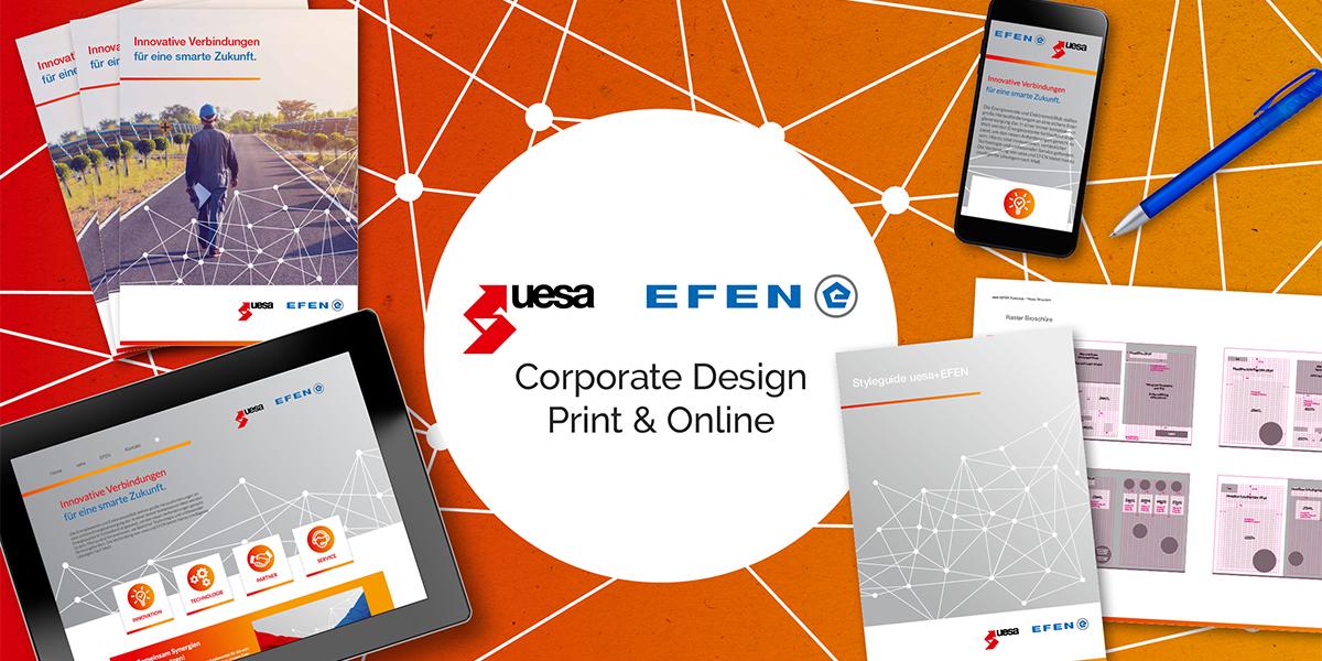 FRIEDSAM Werbeagentur realisiert Projekt für uesa+EFEN