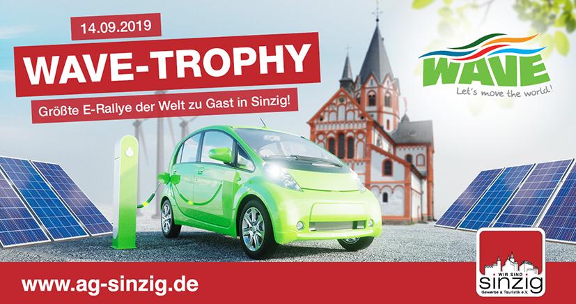 FRIEDSAM Werbeagentur realisiert Projekt für WAVE TROPHY Germany 2019 Sinzig