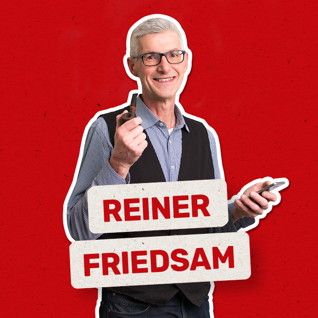 Reiner Friedsam Der Allrounder Geschäftsführer Strategie Marketing
