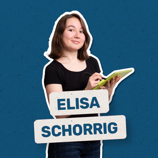 Elisa Schorrig Die Künstlerische Auszubildende Mediengestaltung