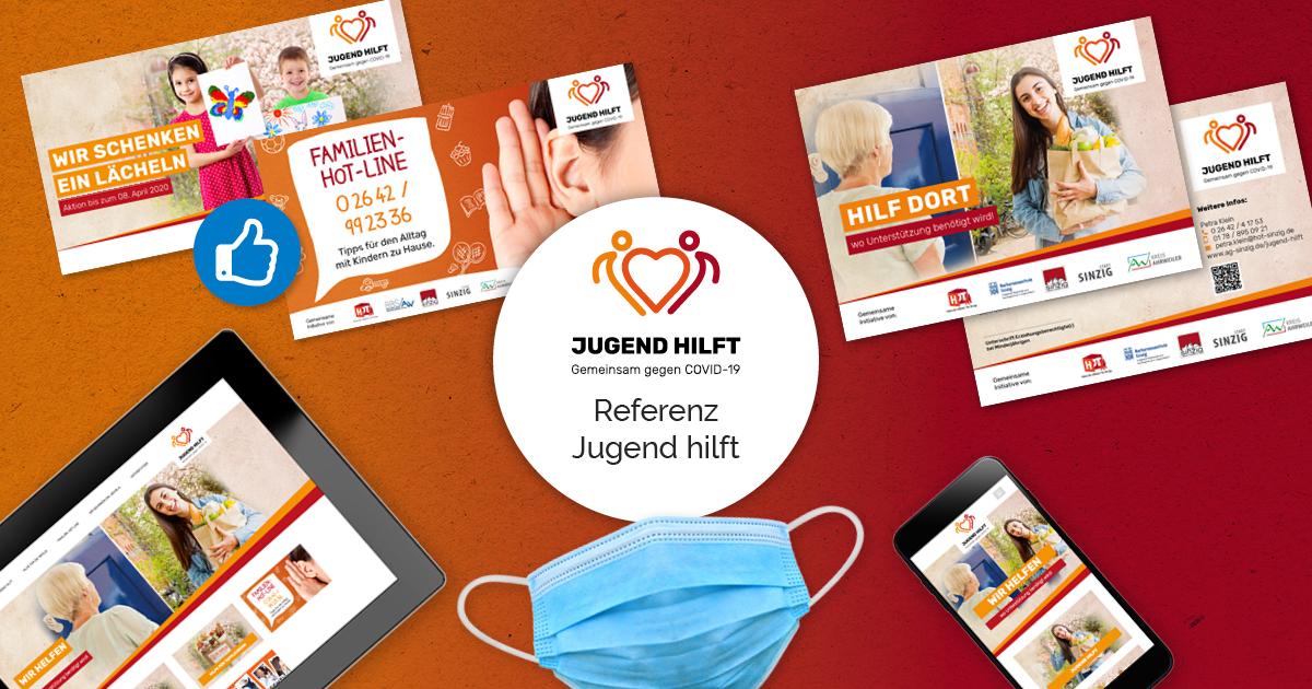 FRIEDSAM Werbeagentur realisiert Projekt für Jugend hilft