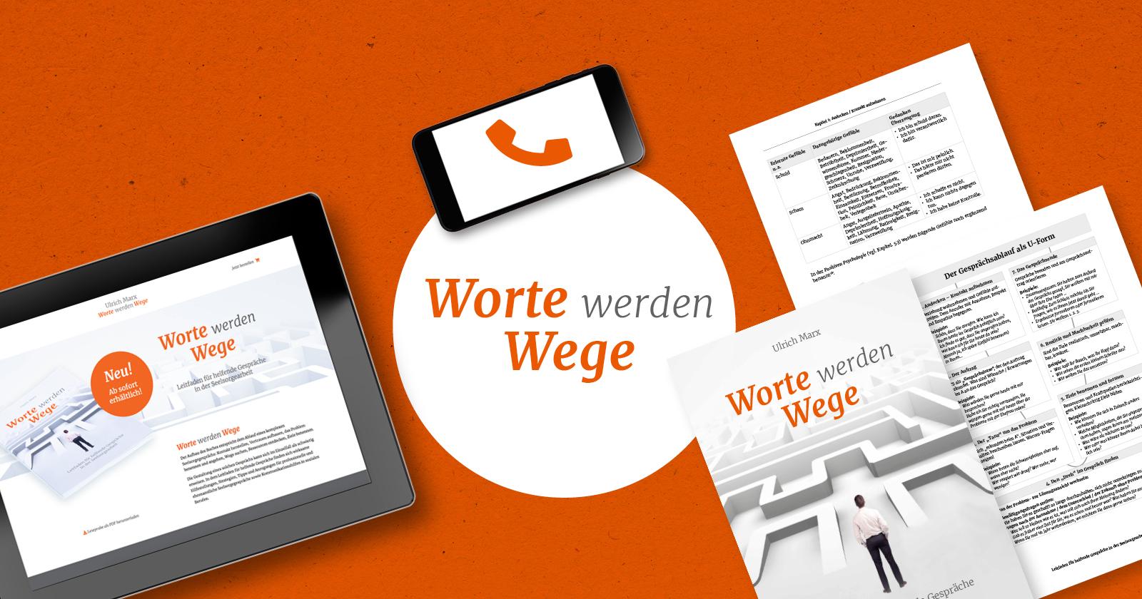 FRIEDSAM Werbeagentur realisiert Projekt für Worte werden Wege