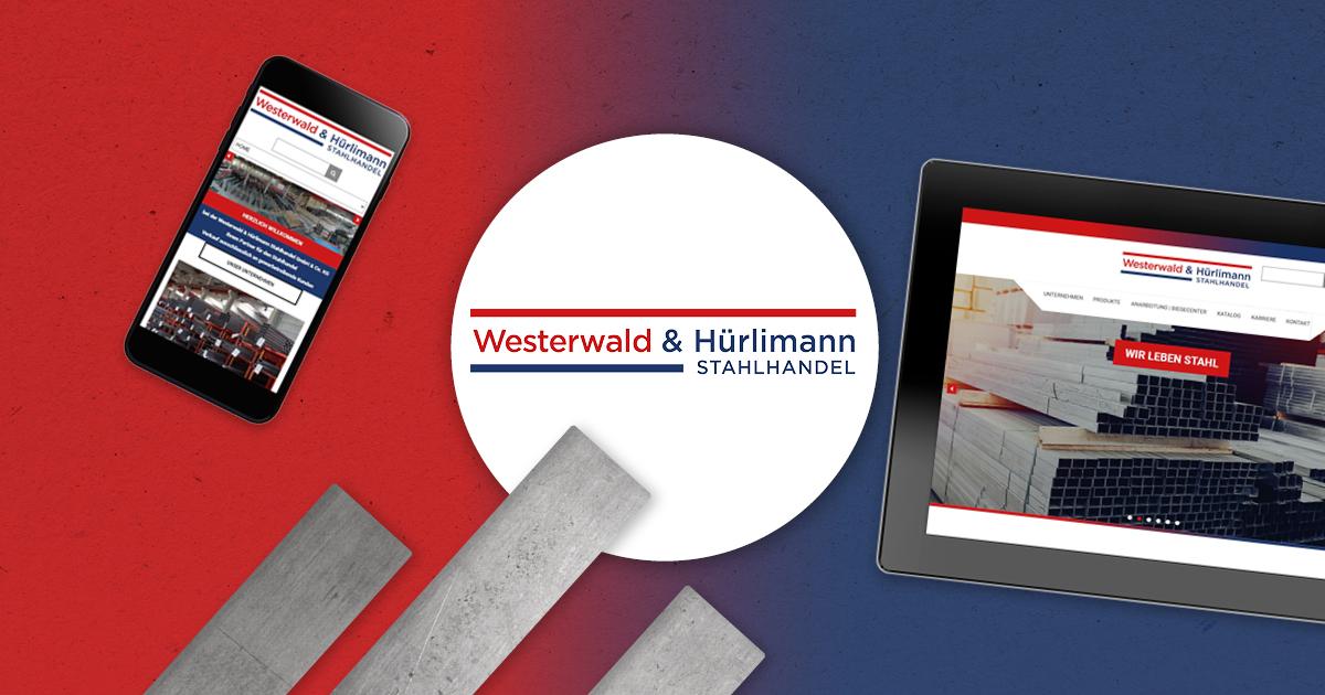 FRIEDSAM Werbeagentur realisiert Projekt für Westerwald & Hürlimann Stahlhandel