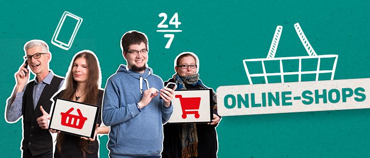 Online Shops von der FRIEDSAM Werbeagentur